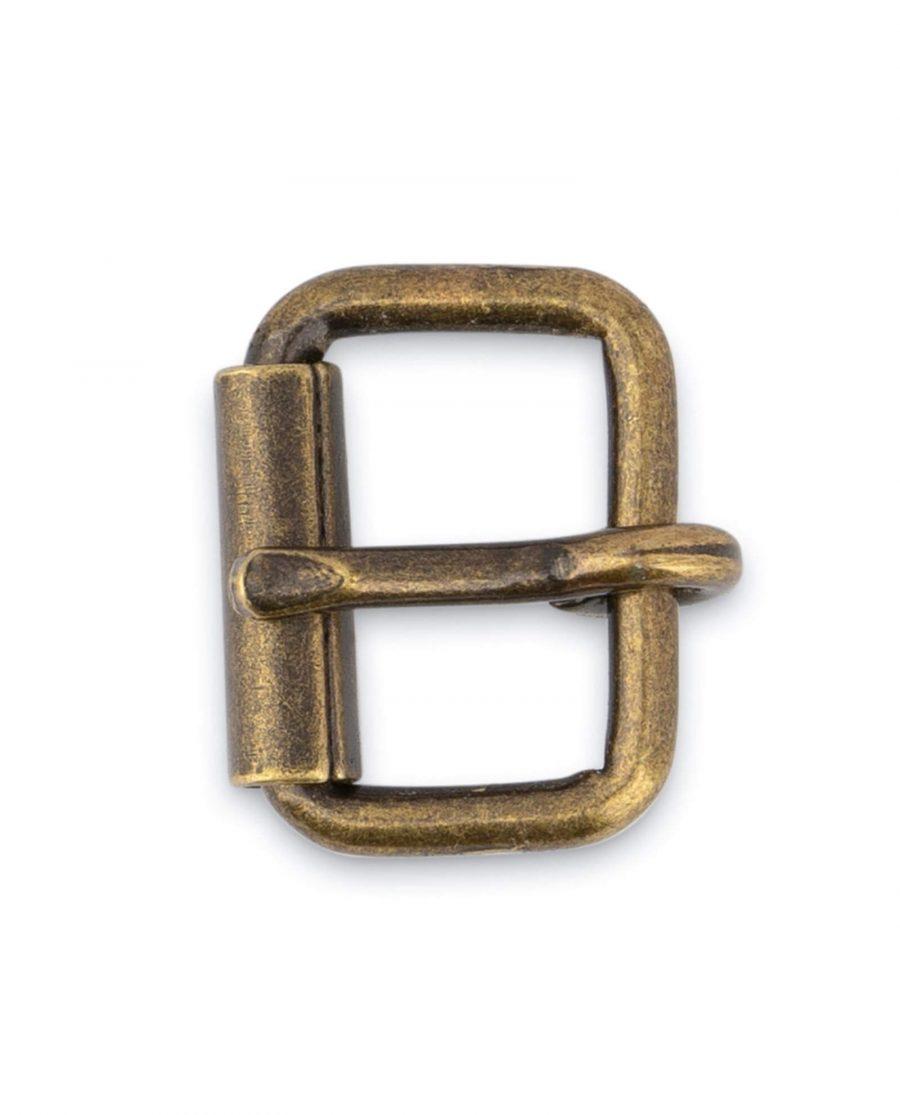 Antique Brass Roller Belt Buckle 16 Mm 3