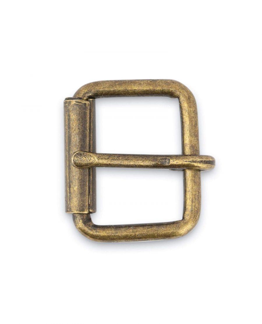 Antique Brass Roller Belt Buckle 20 Mm 3