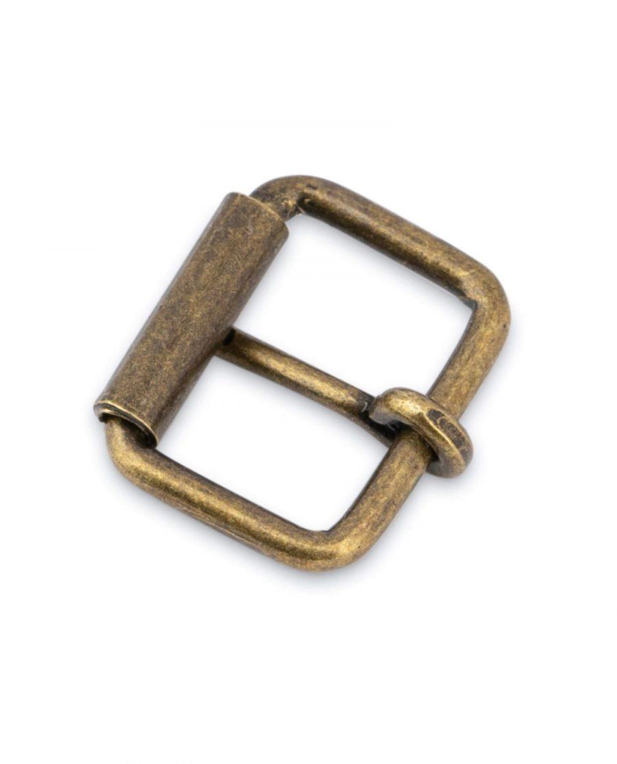 Antique Brass Roller Belt Buckle 20 Mm 4