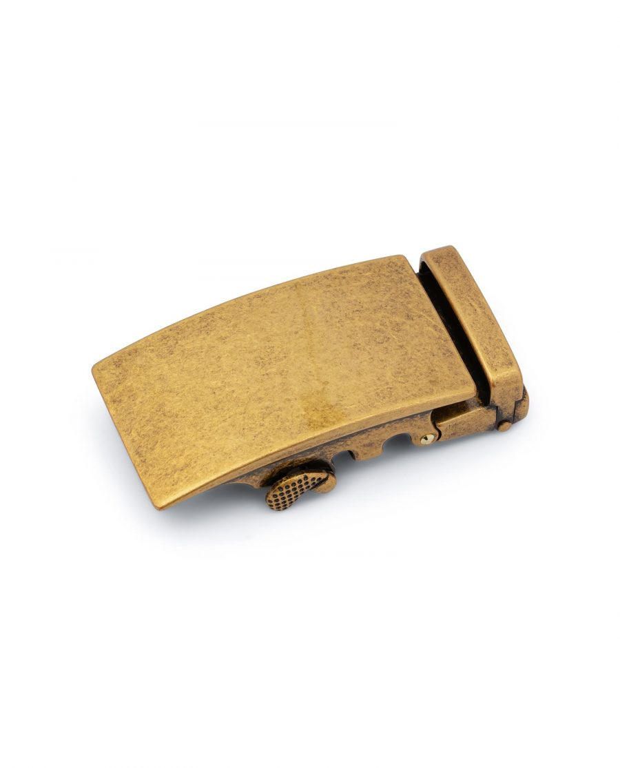 Antique Gold Ratchet Buckle 1