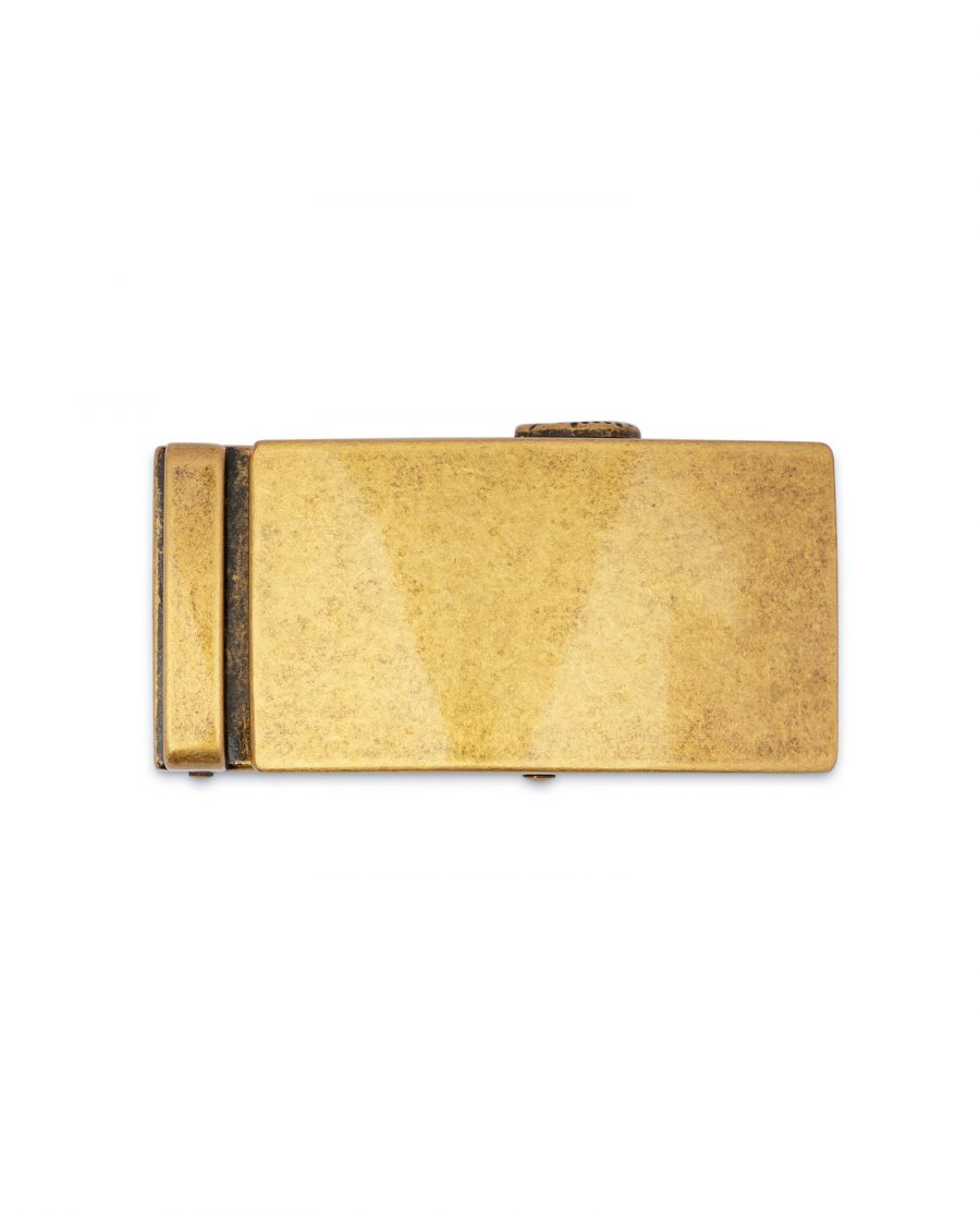 Antique Gold Ratchet Buckle 2