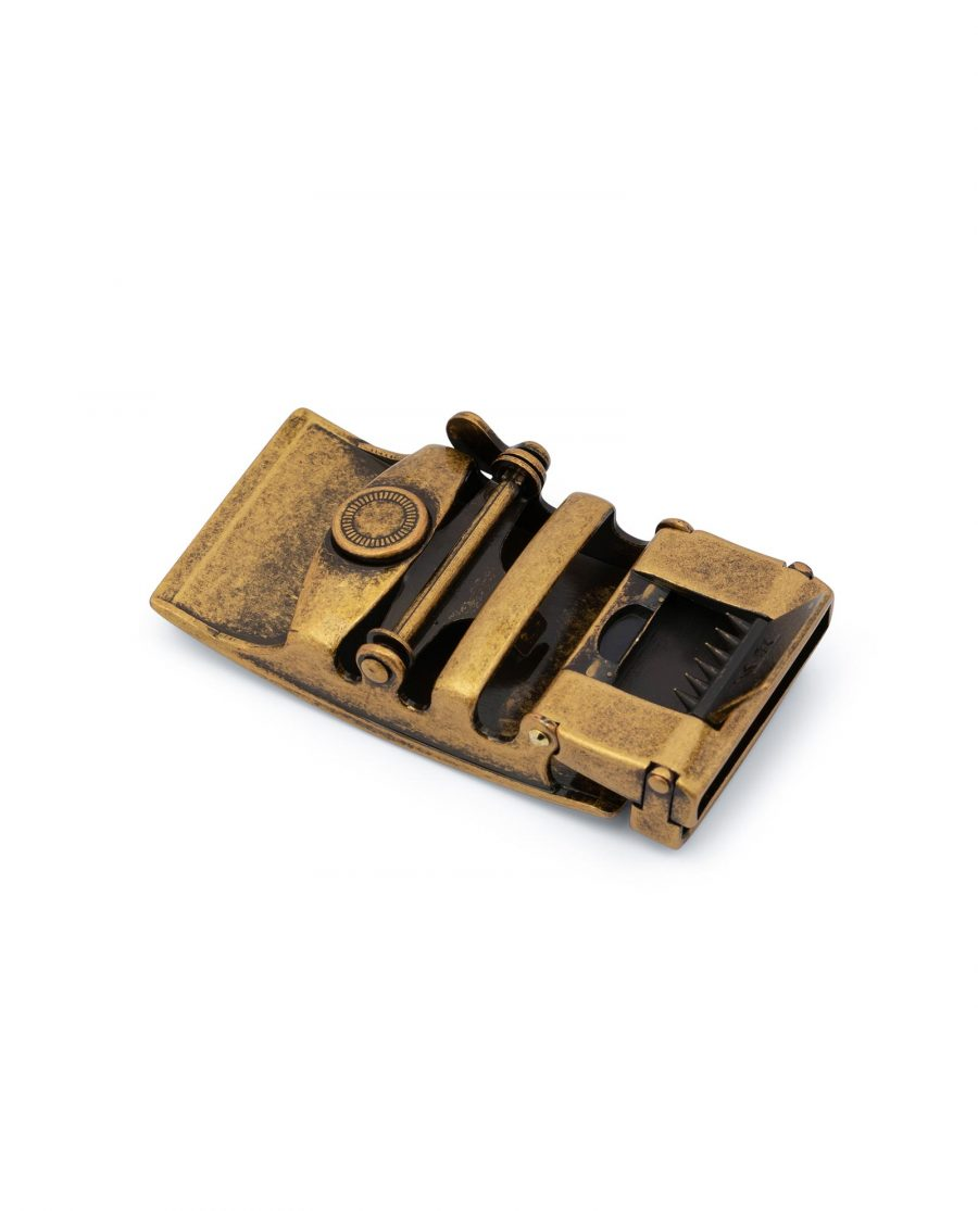 Antique Gold Ratchet Buckle 4