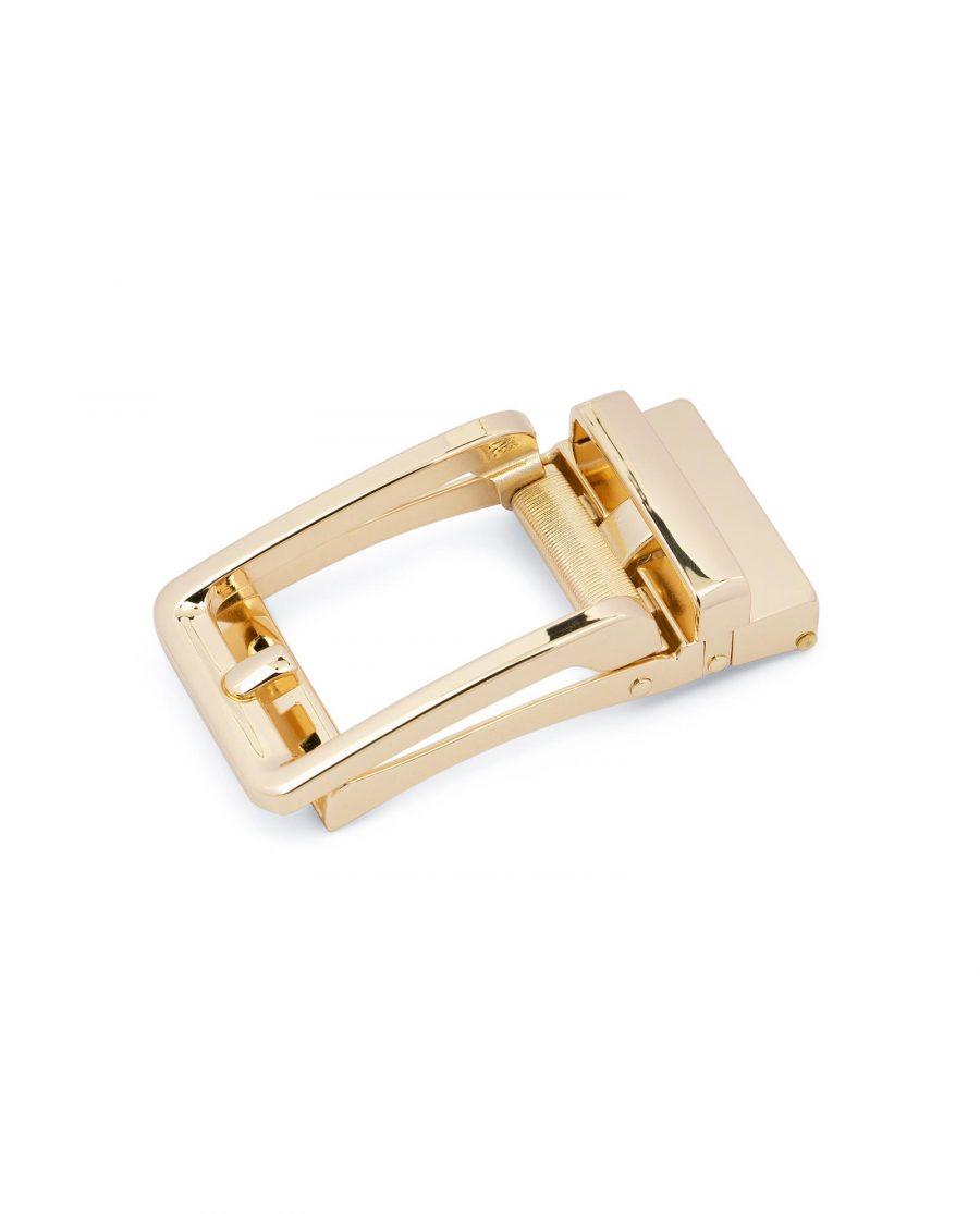 Automatic Gold Belt Buckle 1