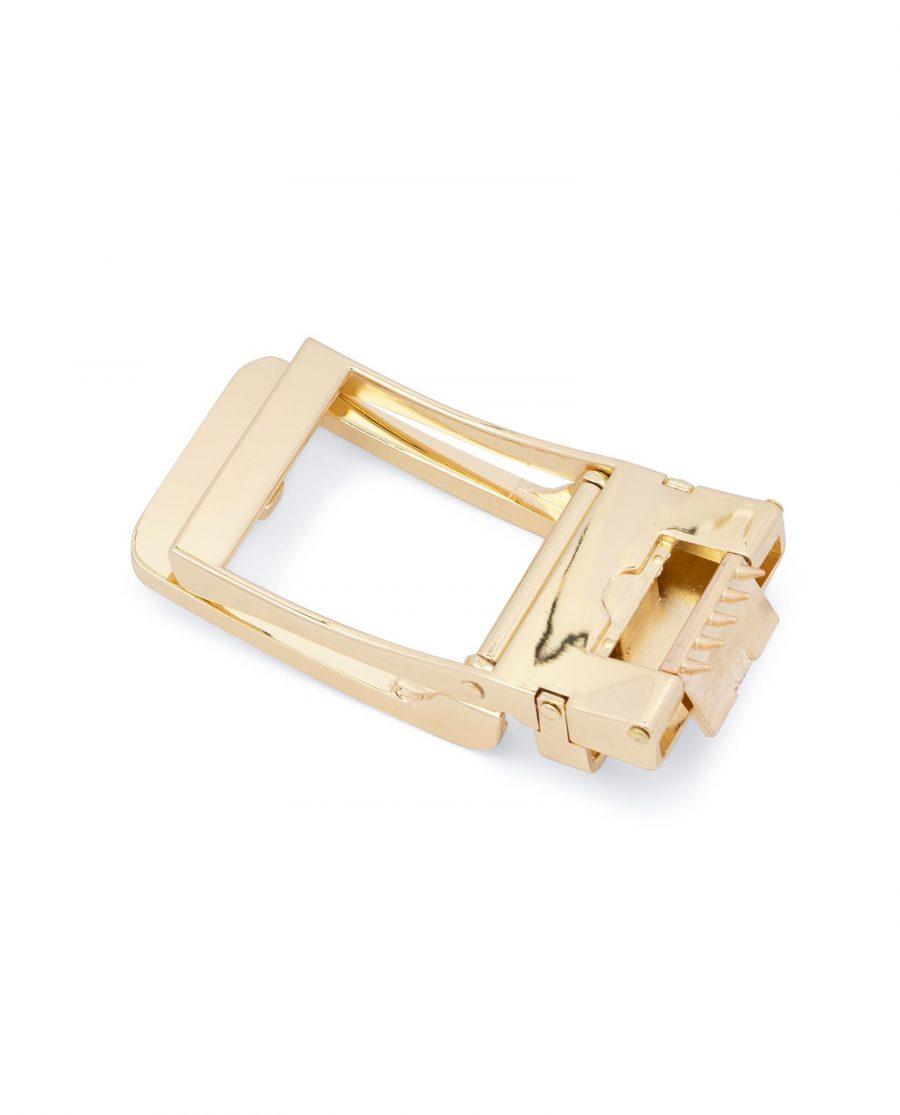 Automatic Gold Belt Buckle 2