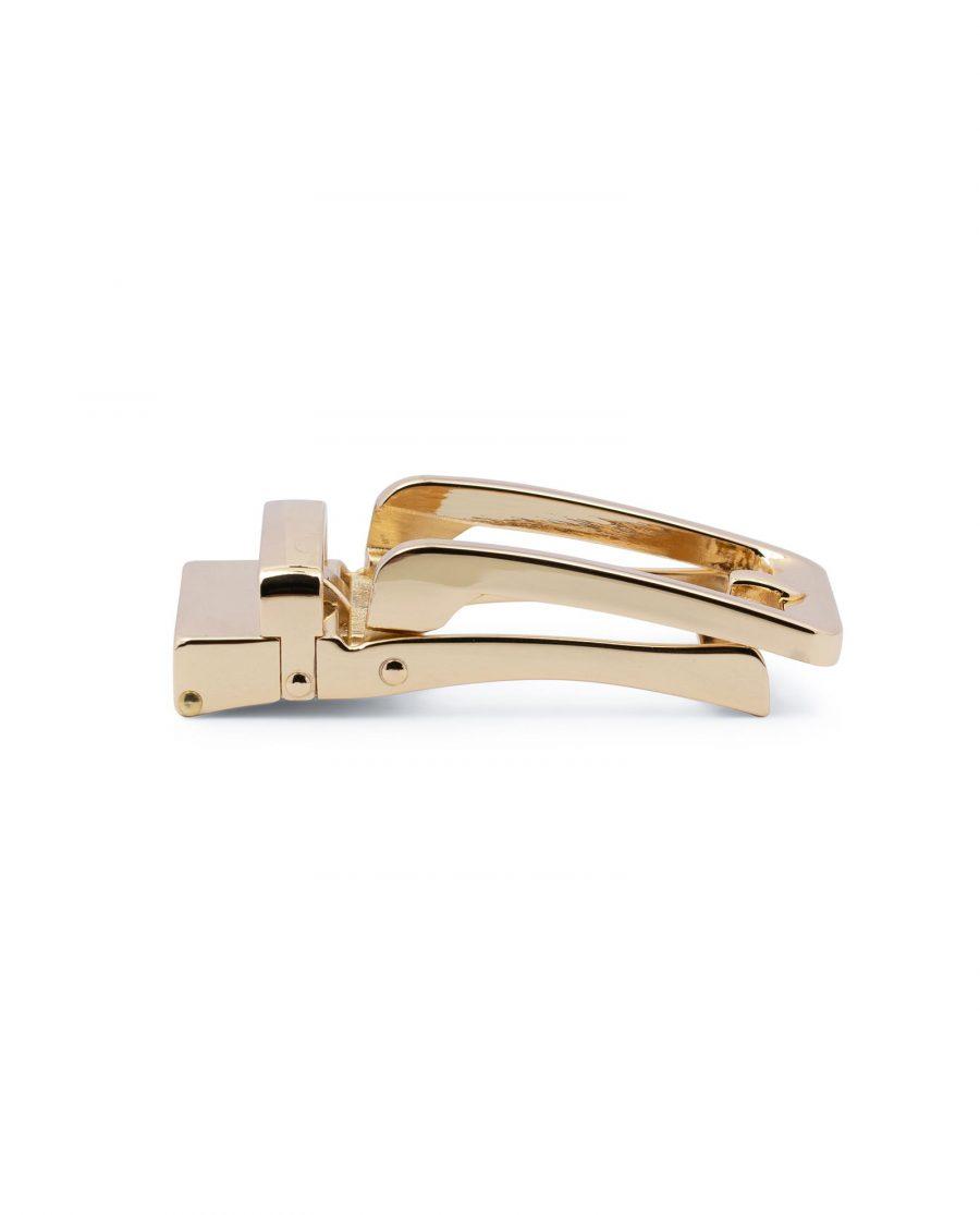 Automatic Gold Belt Buckle 4