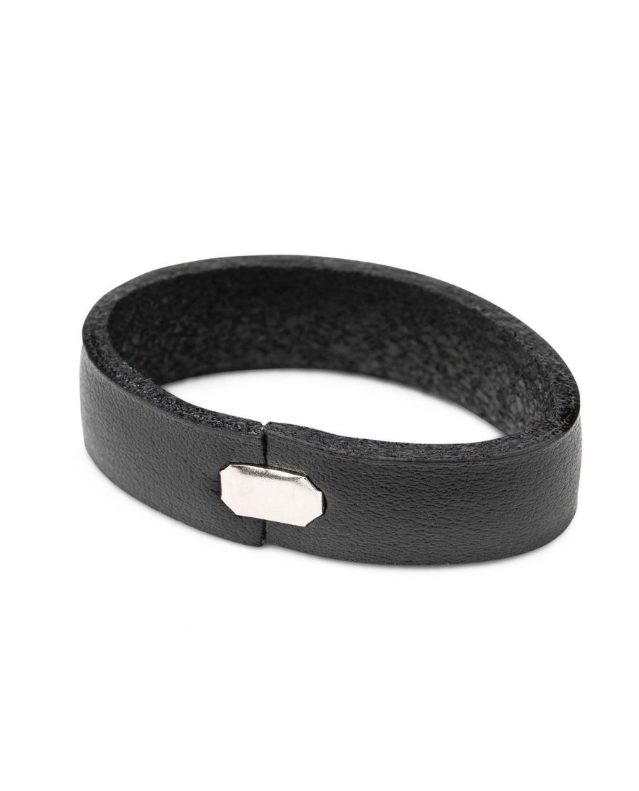 Black Leather Belt Loops Replacement 35 mm 2