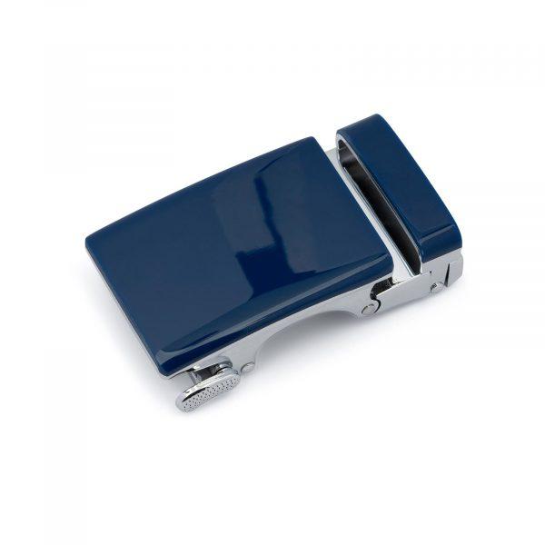 Blue Automatic Belt Buckle 1