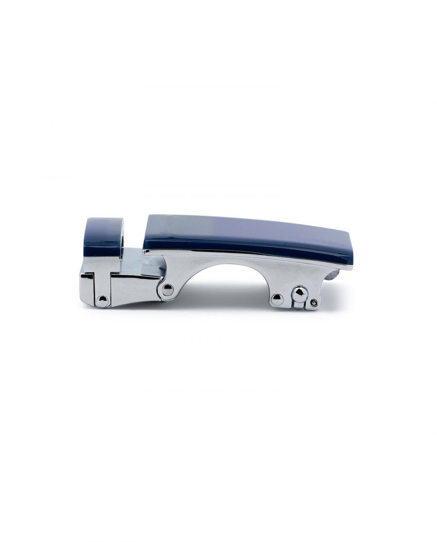 Blue Automatic Belt Buckle 3