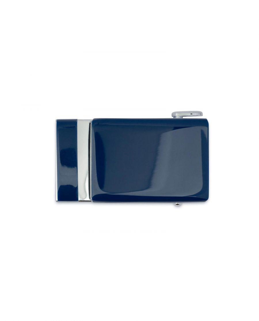 Blue Automatic Belt Buckle 4