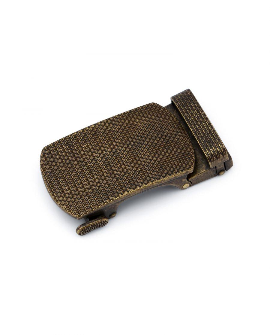 Bronze Ratchet Belt Buckle 1