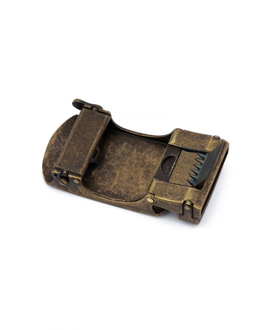 Bronze Ratchet Belt Buckle 2