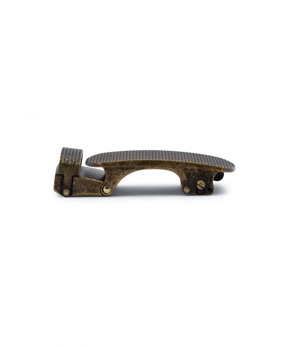 Bronze Ratchet Belt Buckle 4