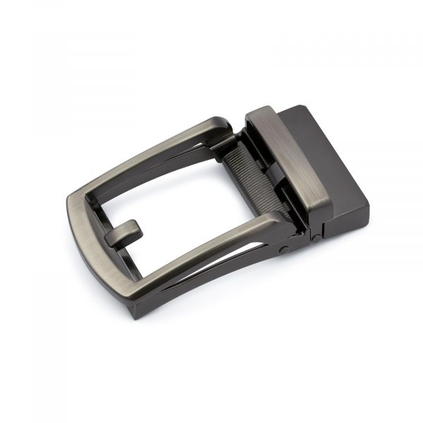 Classic Gunmetal Automatic Belt Buckle 1