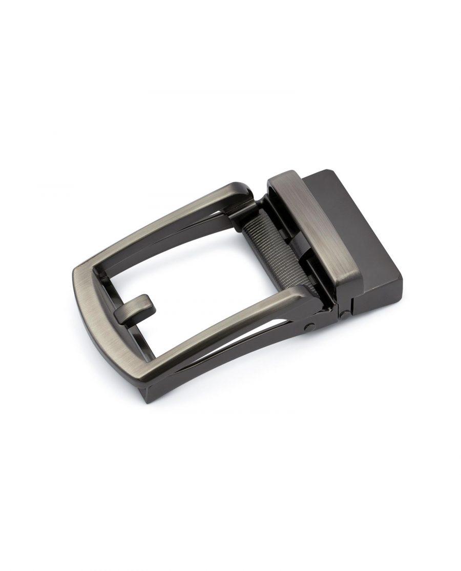 Classic Gunmetal Automatic Belt Buckle 1