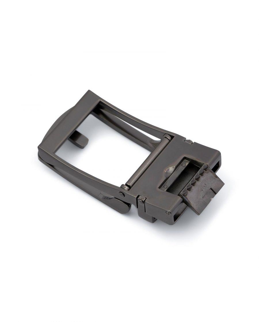 Classic Gunmetal Automatic Belt Buckle 2