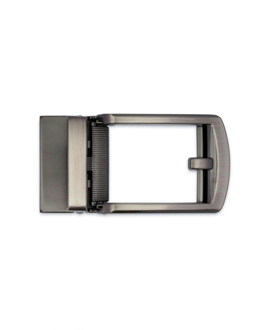 Classic Gunmetal Automatic Belt Buckle 3