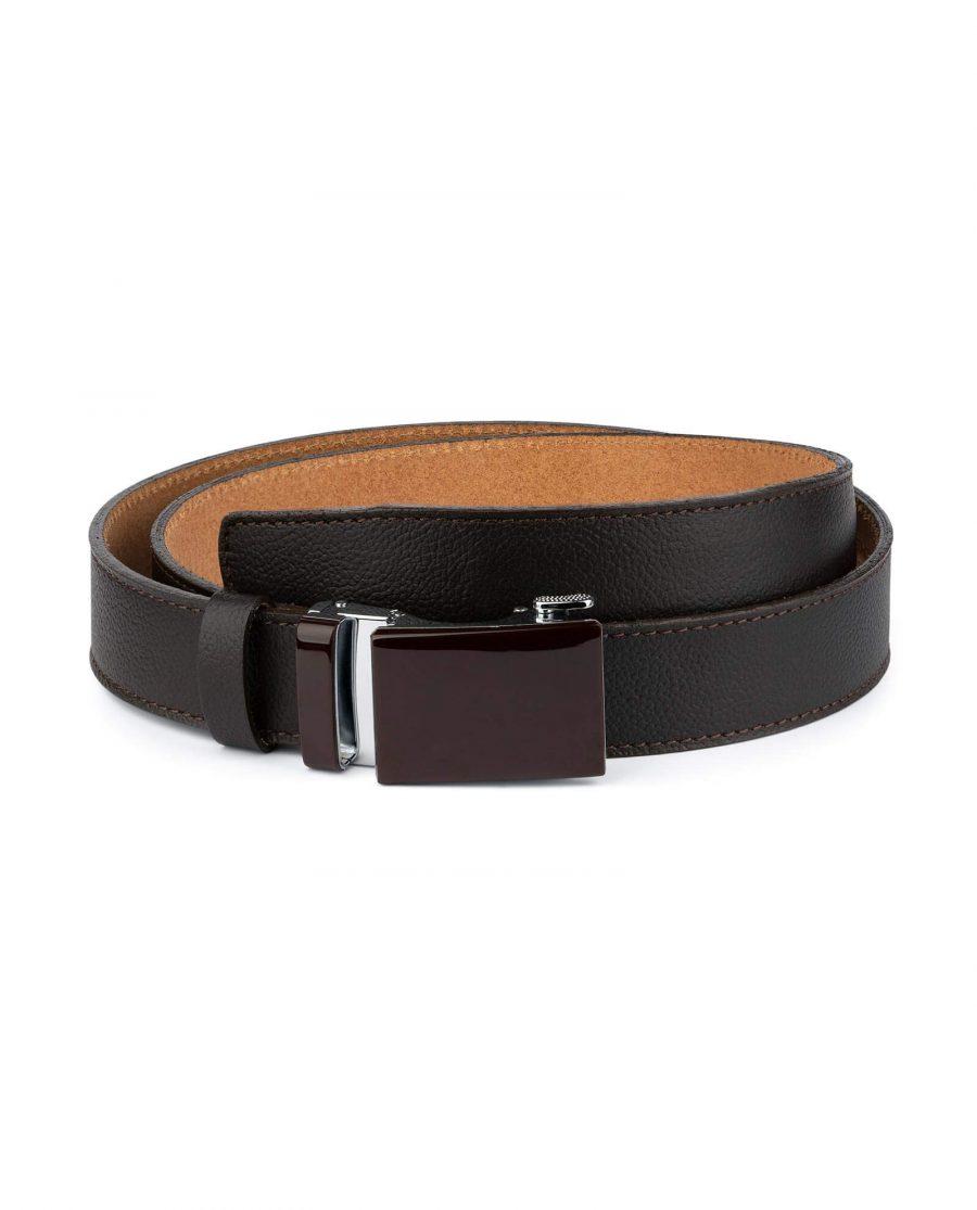 Comfort Click Belt With Brown Buckle 1