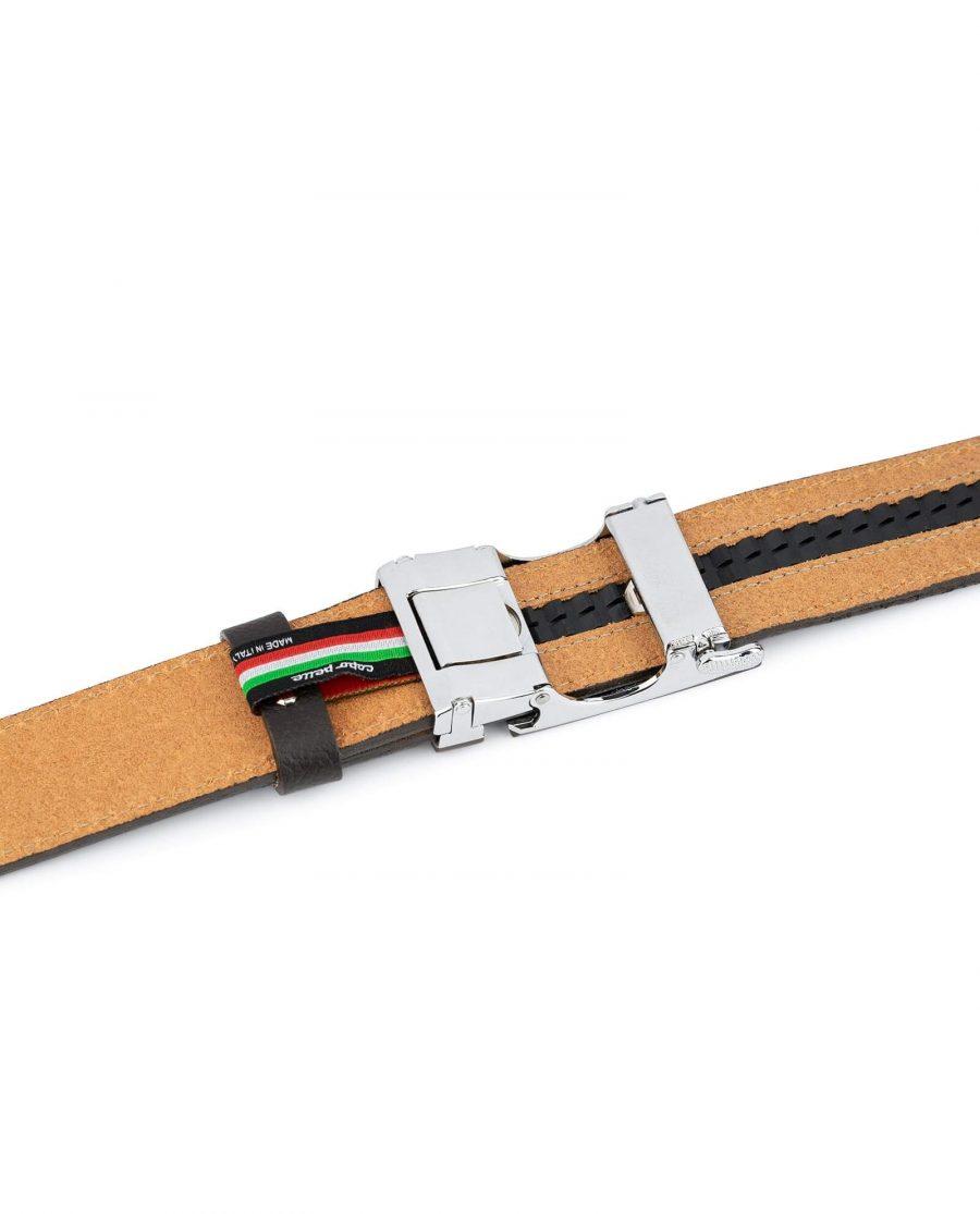Comfort Click Belt With Brown Buckle 4