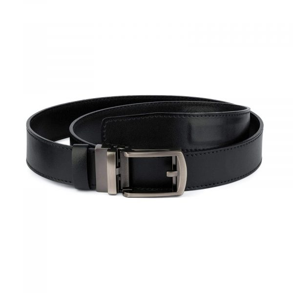 Mens Ratchet Belt With Classic Buckle 1
