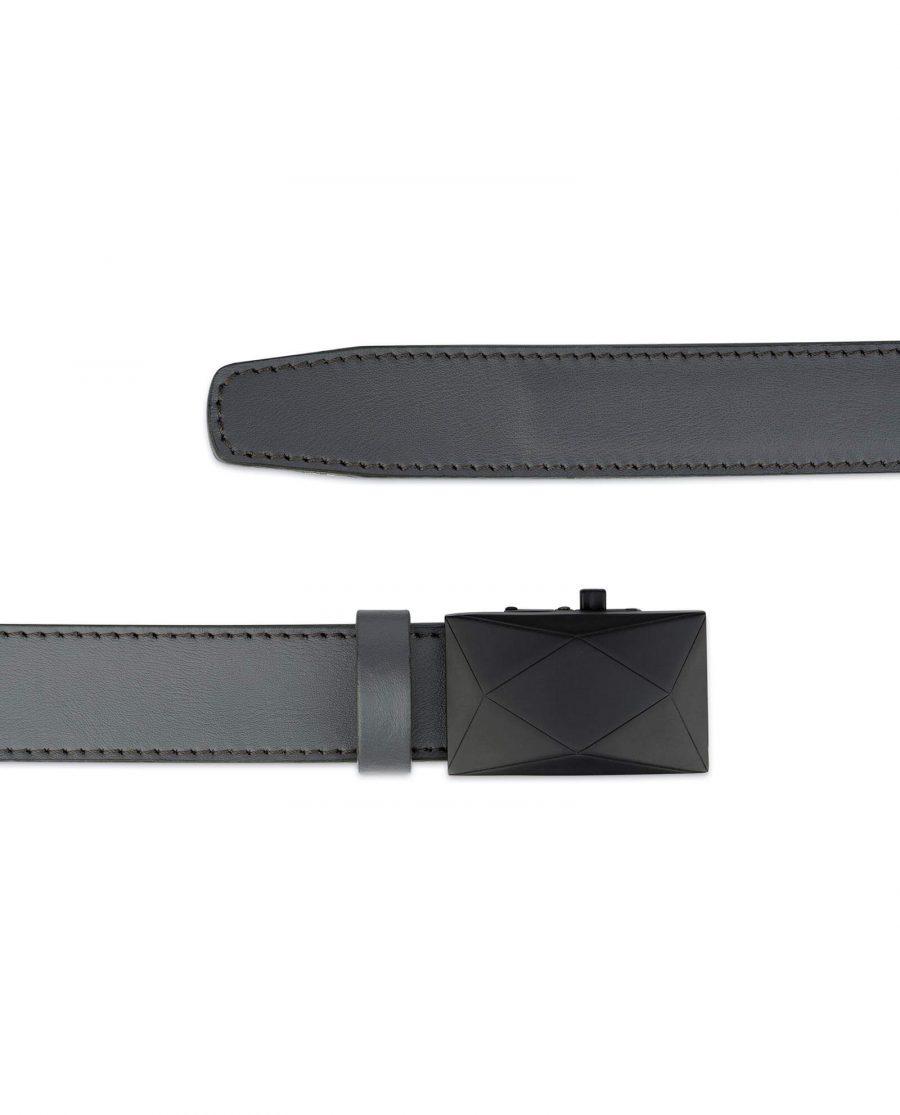 Ratchet Mens Grey Belt Without Holes 2