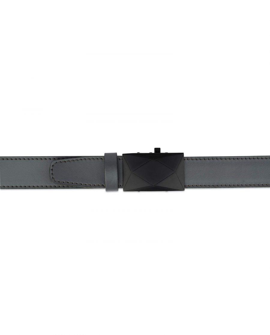 Ratchet Mens Grey Belt Without Holes 3