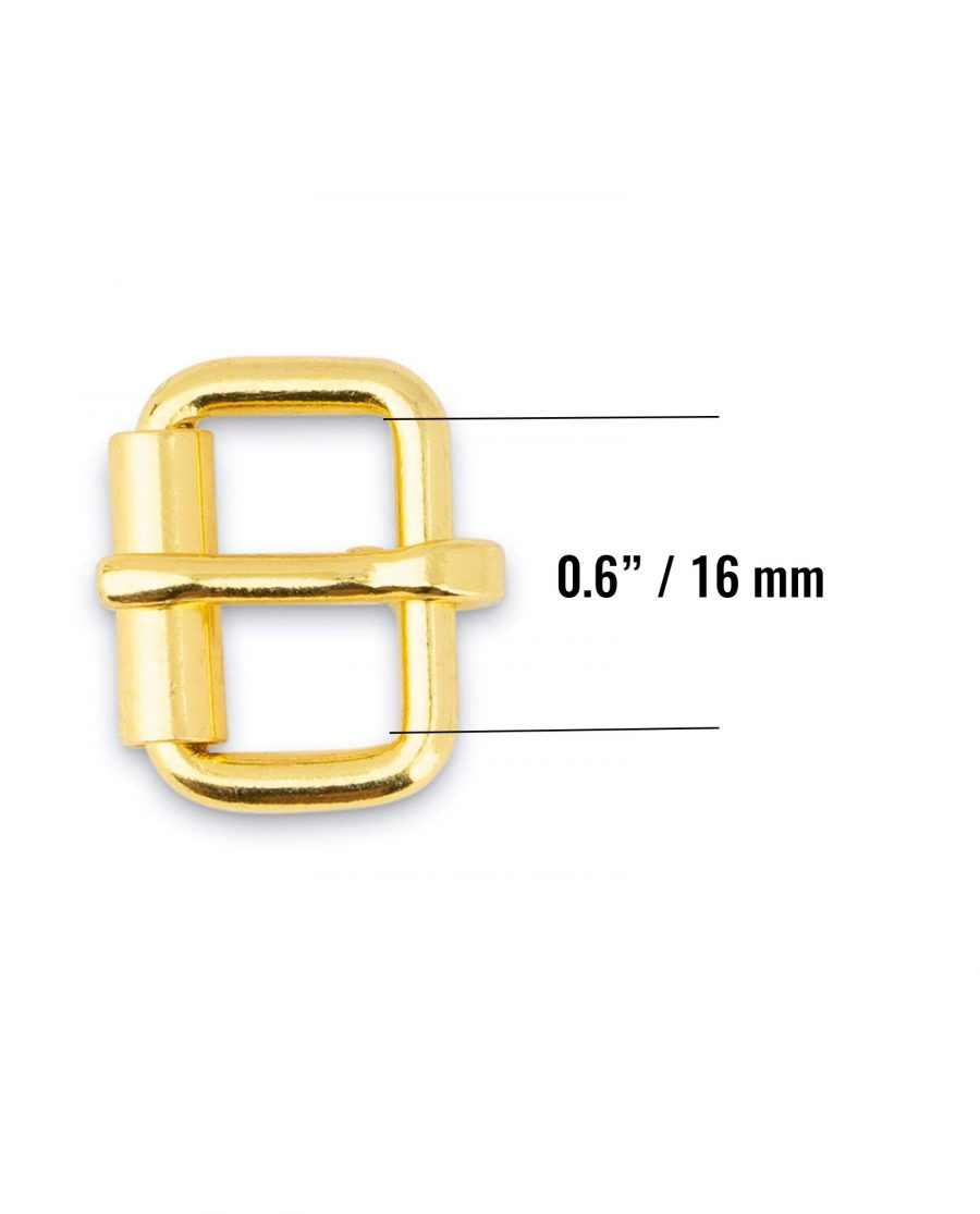 Roller Brass Belt Buckle 16 Mm Size