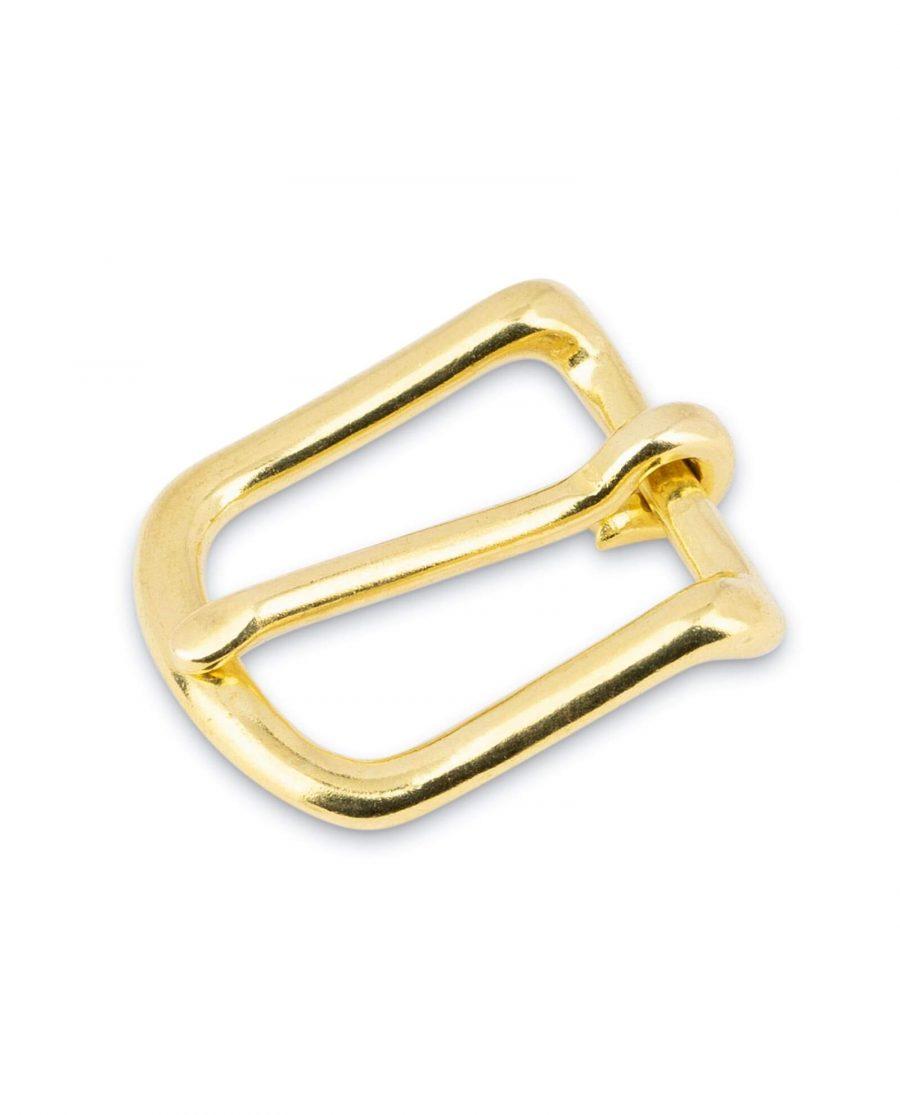 Small Brass Belt Buckle 20 mm 1