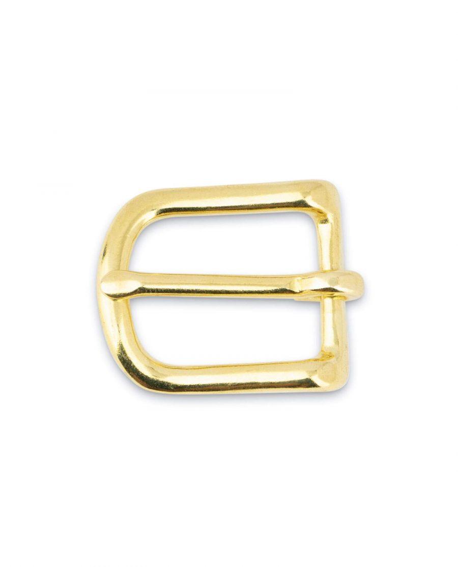Small Brass Belt Buckle 20 mm 3