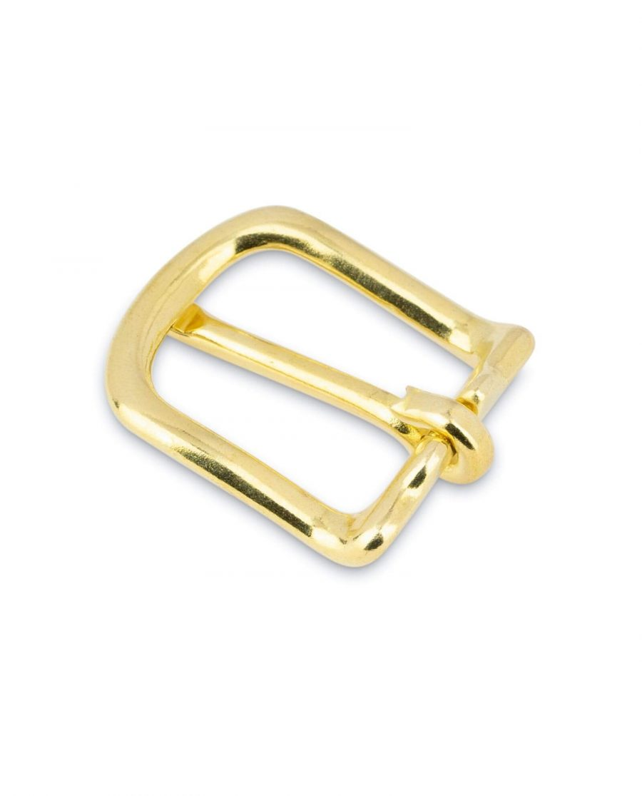 Small Brass Belt Buckle 20 mm 4