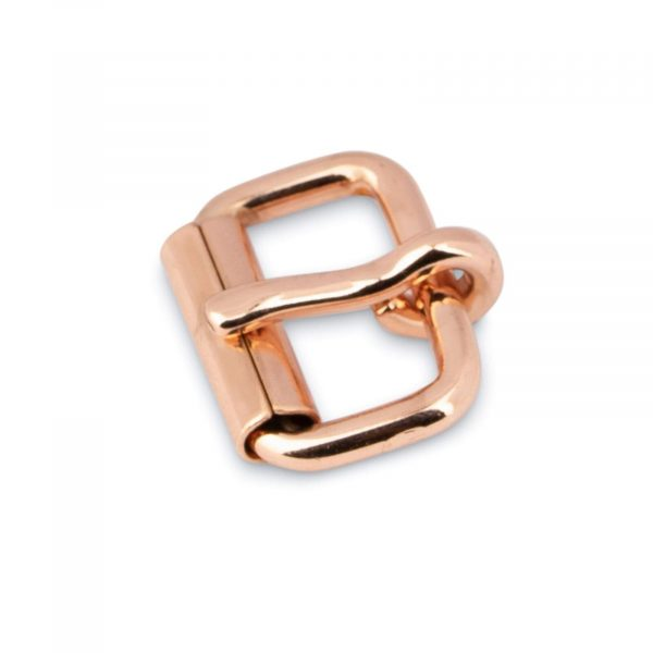 Small Rose Gold Roller Buckle 16 Mm 1