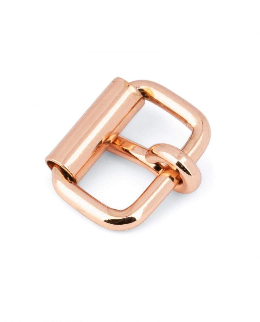 Small Rose Gold Roller Buckle 16 Mm 4