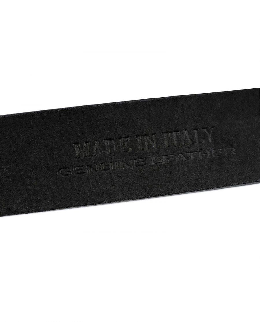 Viking Leather Belt Mjolnir Sword Buckle 6