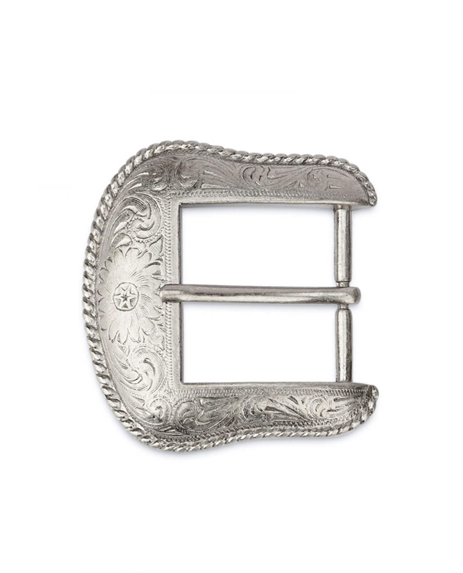 silver western belt buckle WESI35FLOW 3