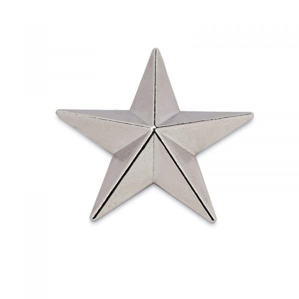 star belt buckle STAR29SILV 1