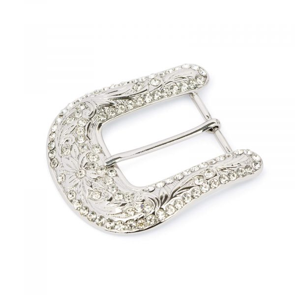 western rhinestone belt buckle 35 mm WENI35RHIN 1