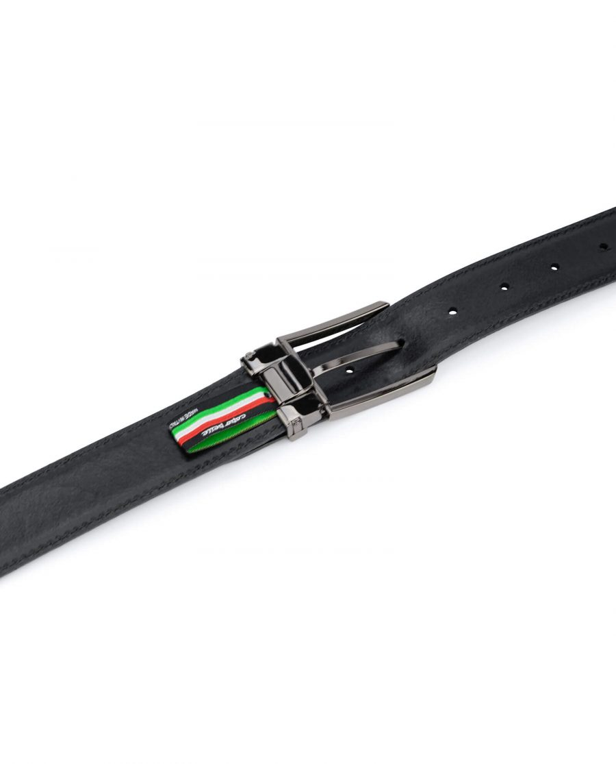 Carbon fiber Leather Belt For Men 35 mm 4