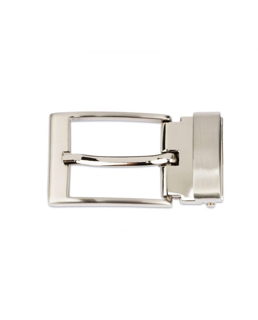Replacement mens buckle for belts – 30 mm nickel CLSI35ARPL 3