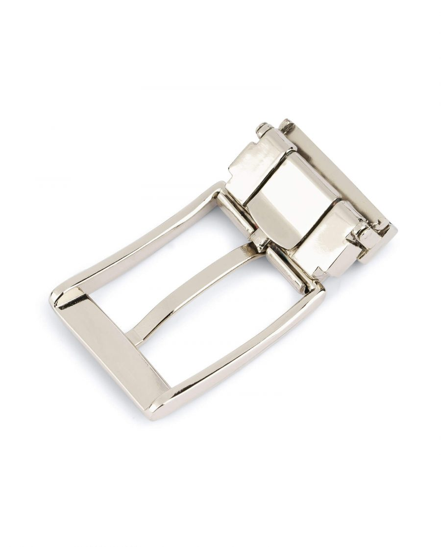Replacement mens buckle for belts – 30 mm nickel CLSI35ARPL 4