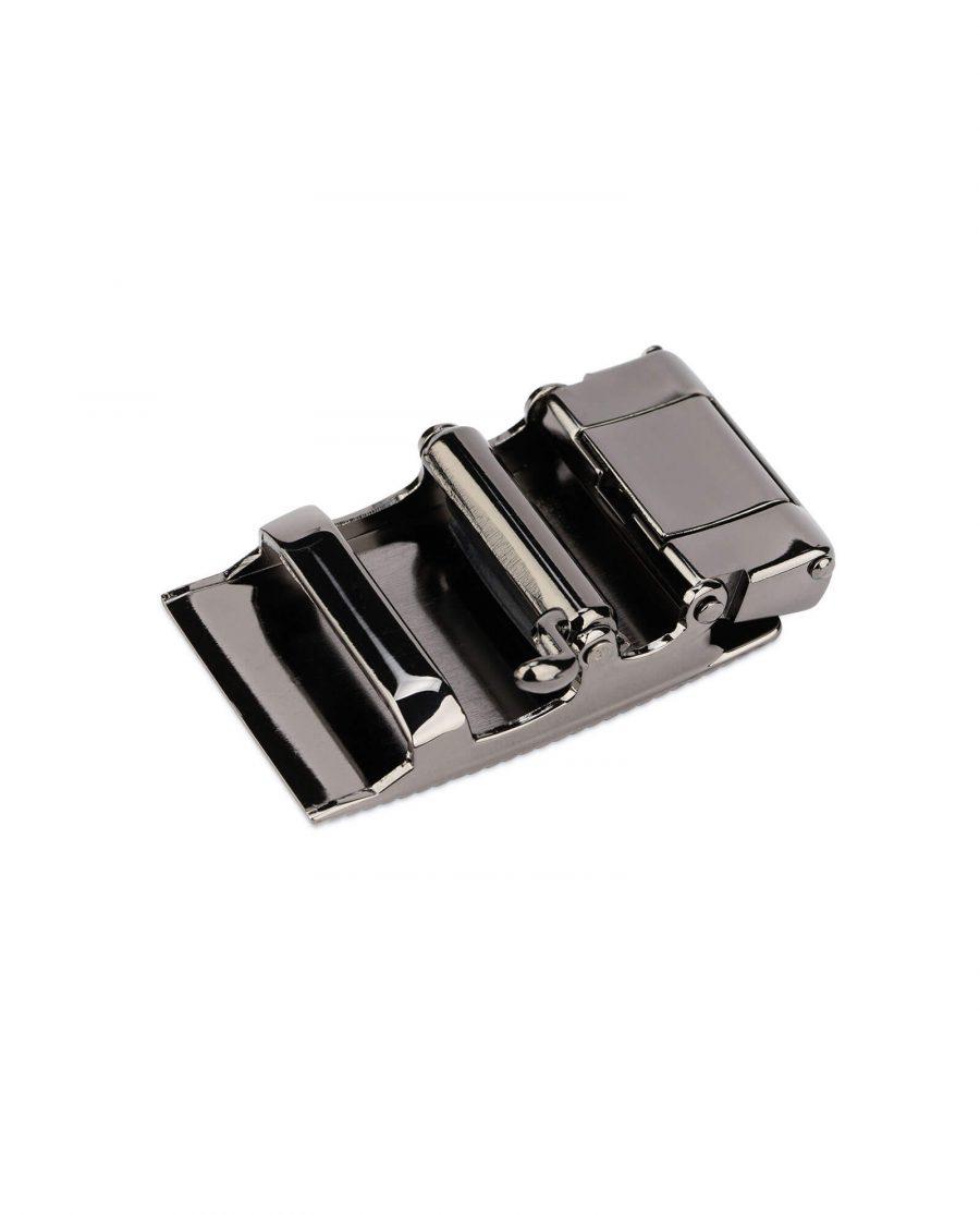 automatic belt buckle 35 mm gunmetal AUGN35ARDT 5