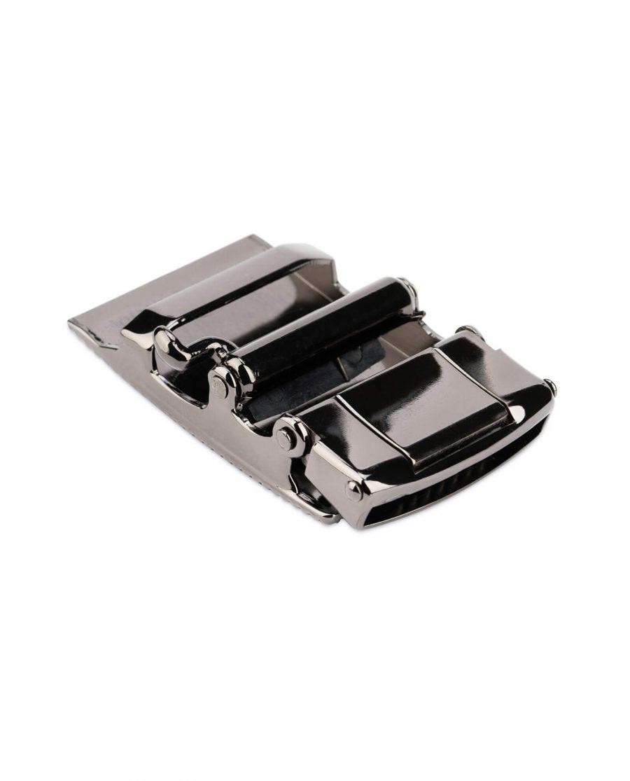 automatic belt buckle 35 mm gunmetal AUGN35ARDT 7