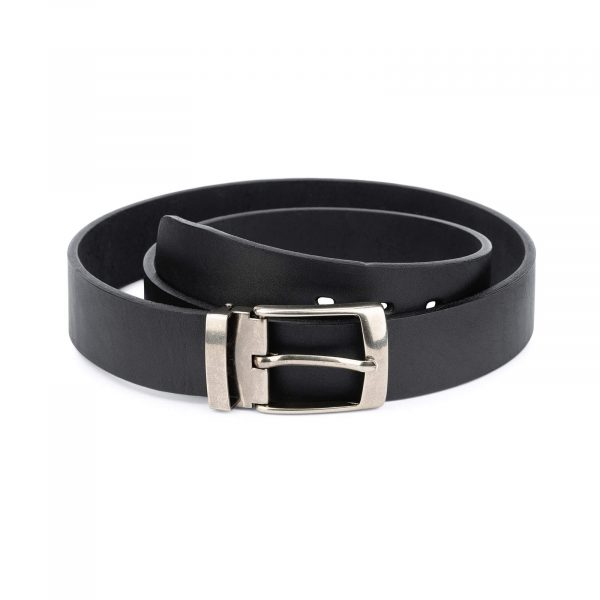 black full grain leather belt blanks 3 5 cm 1