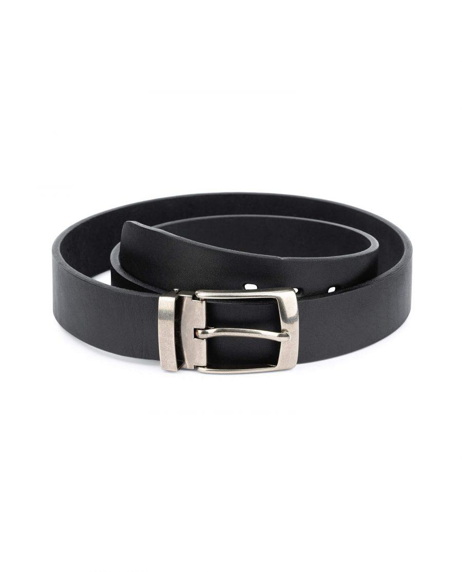 black full grain leather belt blanks 3 5 cm 1