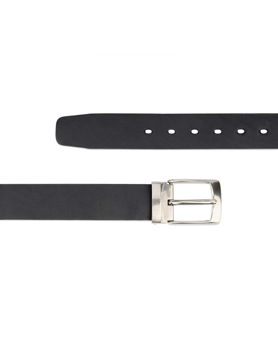 black full grain leather belt blanks 3 5 cm 2