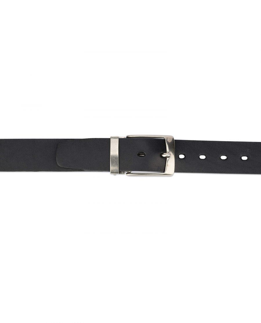 black full grain leather belt blanks 3 5 cm 3
