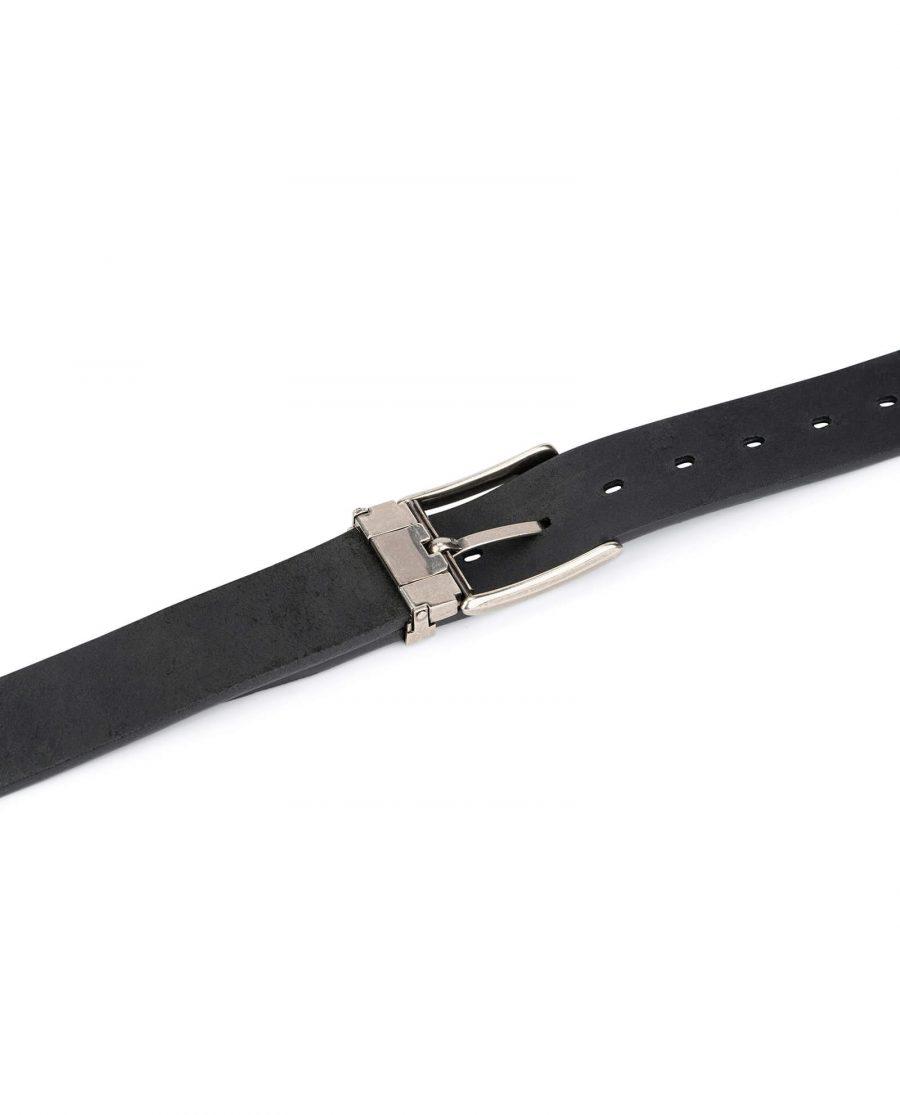 black full grain leather belt blanks 3 5 cm 4