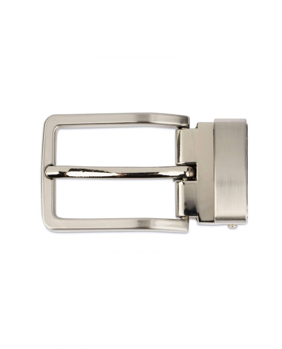 cheap belt buckle for mens belts – 30 mm nickel silver CHSI30NIAR 3