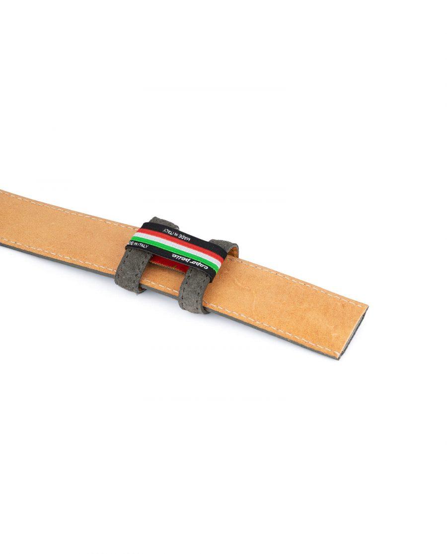 Grey Suede Belt Strap STGR34SULX 4