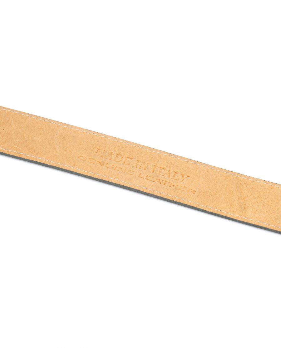Grey Suede Belt Strap STGR34SULX 5