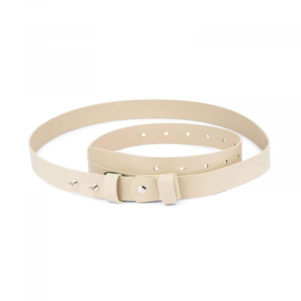 1 inch womens sand belt without buckle 1