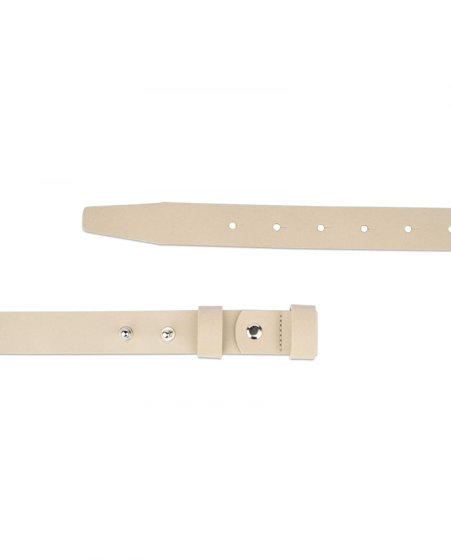 1 inch womens sand belt without buckle 2